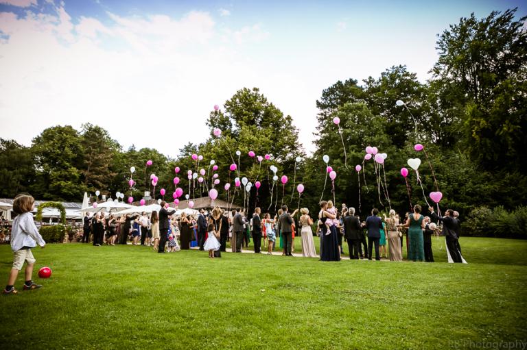 Luftballons Wedding