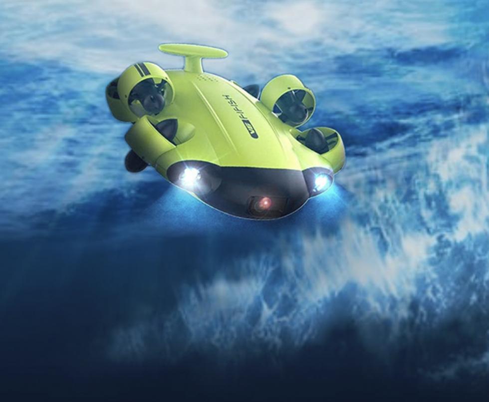 Inspektion aus der Luft und unter Wasser